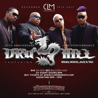 DRU HILL at The Pourhouse - 20th Anniversary Show @ The Pourhouse | Minneapolis | Minnesota | United States