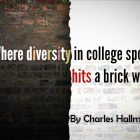 Where diversity in college sport hits a brick wall