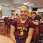 New Gopher recruit gets right down to business