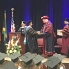 Life-long learner receives Doctor of Education degree