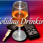 Holidays and impaired driving don't mix