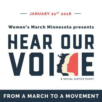 Women's March Minnesota presents: Hear Our Voice! @ Union Depot   Saint Paul   Minnesota   United States