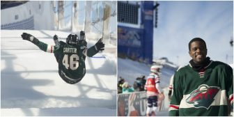 'Don't try this at home!'  — Mayor Carter helps kick off Crashed Ice (photos)
