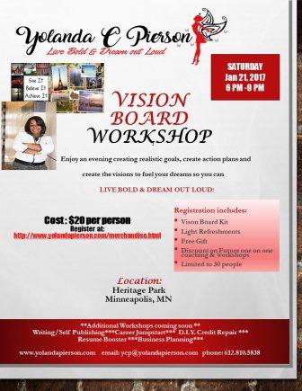 YCP Live BOld Vision Board Workshop @ Brooklyn Park Library   Brooklyn Park   Minnesota   United States