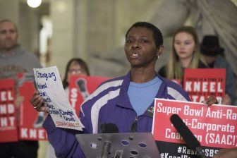 A coalition of groups plan to protest Super Bowl 'take over' of Mpls