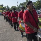 Late '60s drum and bugle corp preserves 'historic sound'