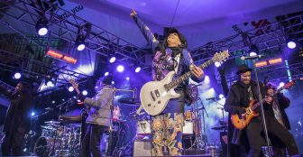 Sheila E., The Revolution, and Morris Day and the Time brave cold to salute Prince (photos)