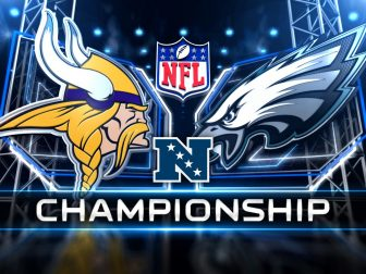 It's Vikings vs. Eagles for the NFC title! (photos)
