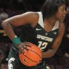 Sophomore Michigan State guard Nia Hollie (Hopkins) scored 14 points in a 66-63 loss to the University of Minnesota a couple of weeks ago.
