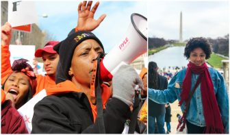 Local student photographer inspired by D.C. gun control rally experience