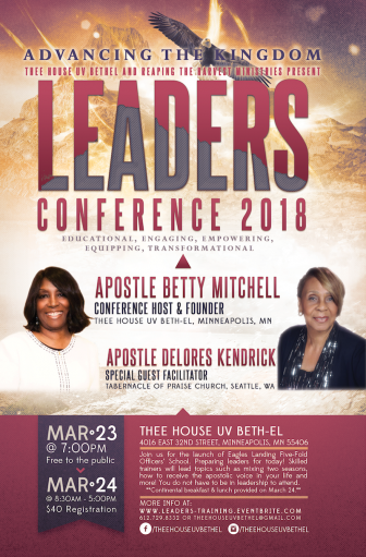 Leaders Conference 2018: Advancing The Kingdom @ Thee House Uv Beth-EL