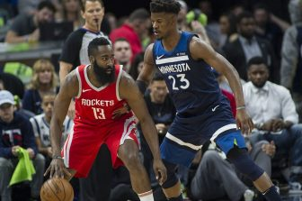 Rockets blast Timberwolves, hit big 5-0
