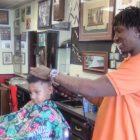 Black barbershop owner stays while buildings razed in Dinkytown
