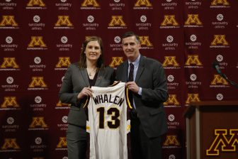 Whalen named new Gopher coach after 'whirlwind' search