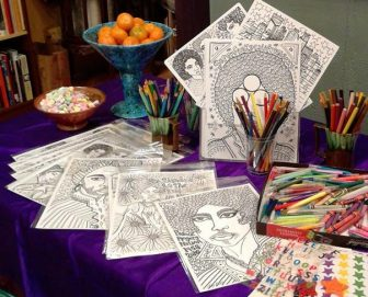 Remembering PRINCE: Coloring Party & Art Icon Workshop @ ColorWheel Gallery | Minneapolis | Minnesota | United States