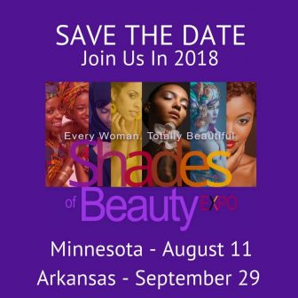 2018 Shades of Beauty Expo - Minnesota @ Saint Paul RiverCentre |  |  |
