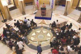 Minneapolis NAACP #Blackout event calls for inclusion at State Capitol
