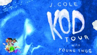 J. Cole with Young Thug at Target Center @ Target Center   Minneapolis   Minnesota   United States