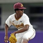 Gopher frosh pitcher gaining his groove