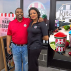 Corporate backgrounds inform couple's franchise venture
