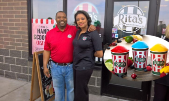 Corporate backgrounds inform couple's franchise venture
