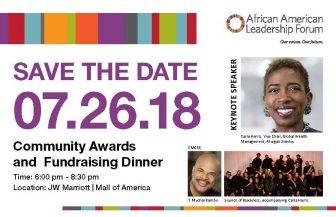2018 AALF Annual Dinner @ JW Marriott Mall Of America | Bloomington | Minnesota | United States