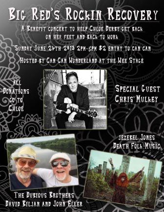 Big Red's Rockin Recovery: A benefit concert to help Chloe Derby @ Can Can Wonderland | Saint Paul | Minnesota | United States