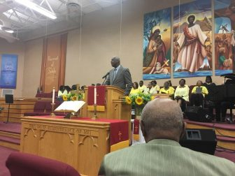 Faith community serves as place of hope, healing in midst of police shooting