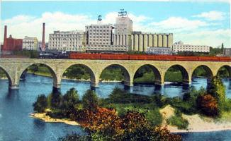 Downtown Minneapolis Riverfront Walking Tour @ Corner of   Minneapolis   Minnesota   United States