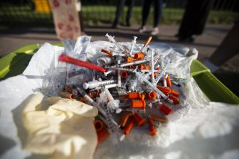 Remnants of addiction — group cleans neighborhood of discarded needles