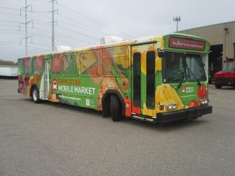 Grocery buses bring harvest to food deserts