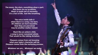 Prince is often called a modern-day Mozart