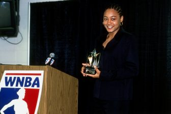 Lennox, a stand-out Lynx rookie in 2001, calls the team 'my first home'
