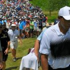 Tiger Woods oh so close to a Major win