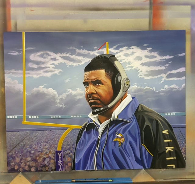 Dennis Green portrait