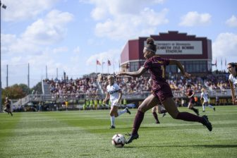 Adjustments required for college soccer newcomer