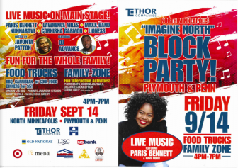 'Imagine North' Block Party @ Minneapolis | Minnesota | United States