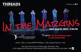 "Threads Dance Project presents ""In the Margins"" @ The O'Shaughnessy  