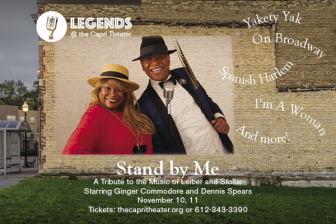 """Legends @ the Capri presents """"Stand by Me - A Tribute to the Music of Lieber and Stoller"""" @ Capri Theater 