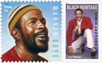 Marvin Gaye, Gregory Hines honored with 2019 USPS stamps