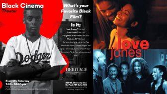 A celebration of Black cinema: Heritage Tea House presents 'Love Jones' @ Heritage Tea House