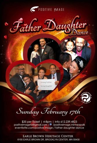 Positive Image Father Daughter Dance @ Earle Brown Heritage Center