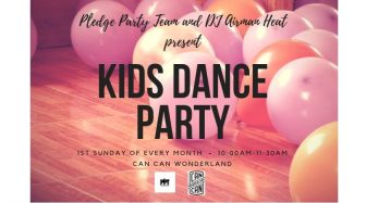 Kids Dance Party at Can Can Wonderland @ Can Can Wonderland