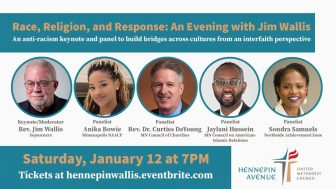 Race, Religion, and Response: An Evening with Jim Wallis @ Hennepin Avenue United Methodist Church