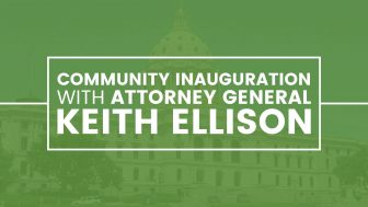 Community Inauguration with Attorney General Keith Ellison @ Sabathani Community Center