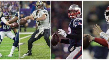 The NFL's 'Fantastic Four' face off