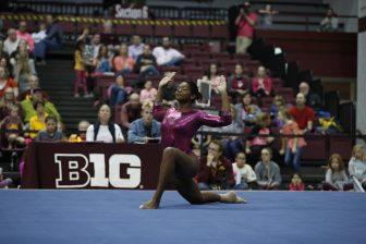 Gopher gymnast Paige Williams keeping 'good score sheet' alive
