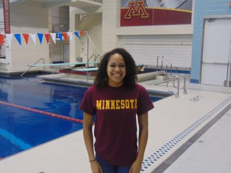 Black Gopher swimmer and diver both proud of cultural impacts
