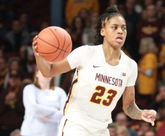 Black History Month recognition prominent at U of M women's game