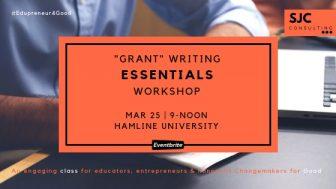 Grant Writing Essentials @ Hamline University